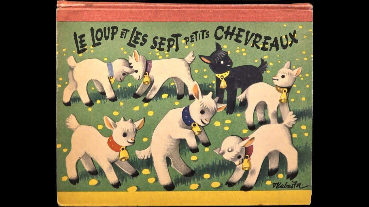 Download POP-UP BOOK 4K: Kubasta -  Le loup et les sept chevreaux (1966)