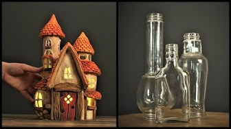 ❣DIY Fairy House Using Jars❣