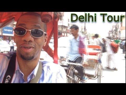 DELHI Day Tour Vlog (India Travel)