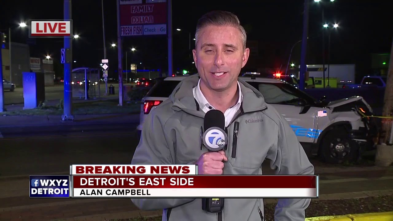 12-year-old hit by DPD cruiser, 2nd cruiser hits pole responding to scene
