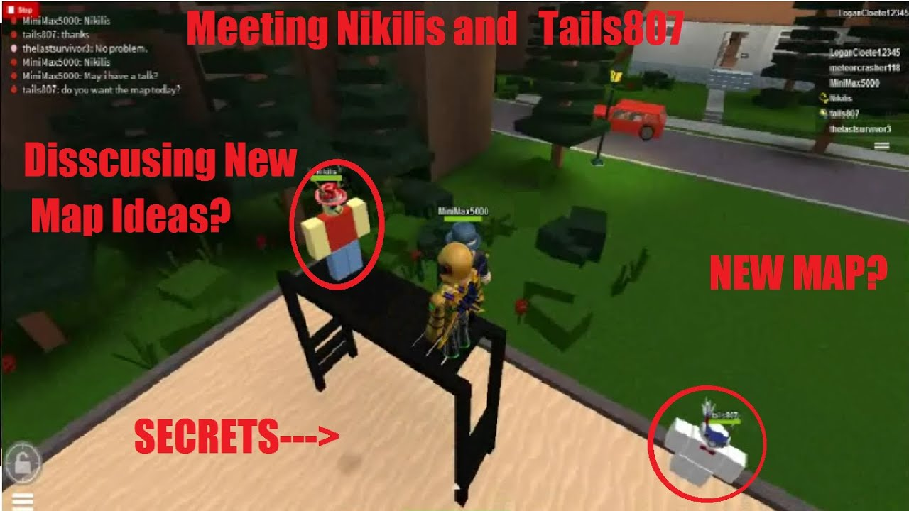 Roblox Meeting Nikils And Tails Taymaster S Cousin