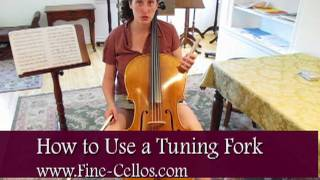 Tuning Your Cello with a Tuning Fork