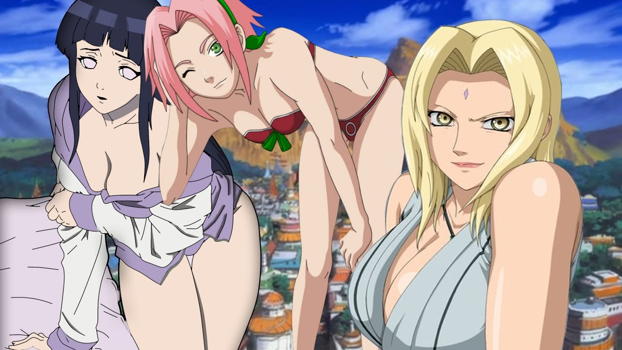 naruto girls sexy hot naked pics