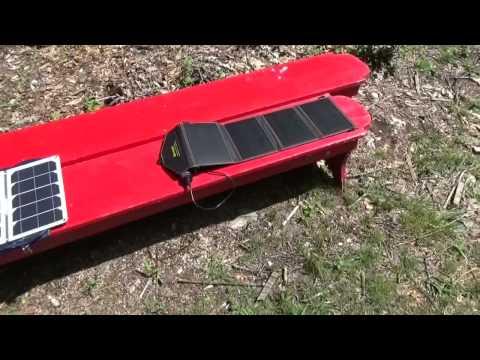 Folding USB Solar Panels Head 2 Head Testing
