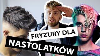 FRYZURY DLA NASTOLATKÓW (i nie tylko) - Bieber, G-eazy, Marcus&  Martinus hairstyle