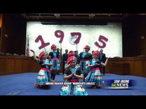 SUAB HMONG NEWS:  Minnesota Angels, the first Hmong dancer group to perform at the Capitol Hill