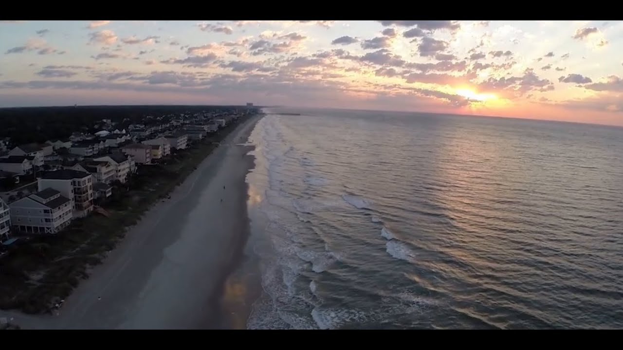Amazing Aerial Drone Video of Garden City Surfside South of