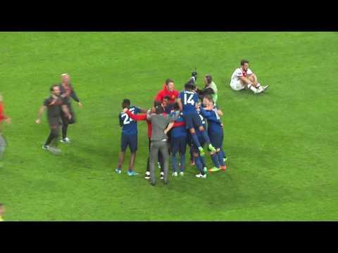 2017 UEFA Europa League Final: Manchester United 2-0 Ajax Amsterdam - Final Whistle & Celebration