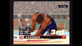 ESPN International Track & Field Ps2 Gameplay 4 players