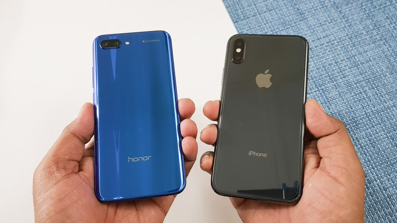 Honor  Vs Iphone X Speed Test Comparison Shocking Results