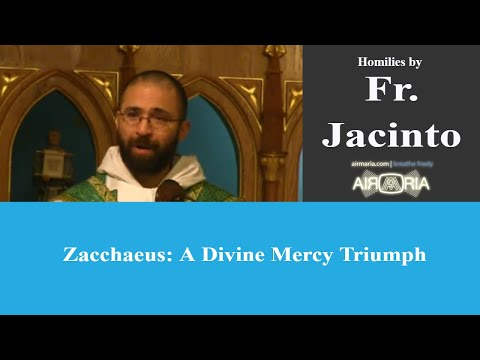 Zacchaeus A Divine Mercy Triumph - Nov 03 - Homily - Fr Jacinto