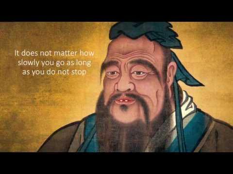 Qhias peb uas neeg Zoo  By Confucius Kongzi