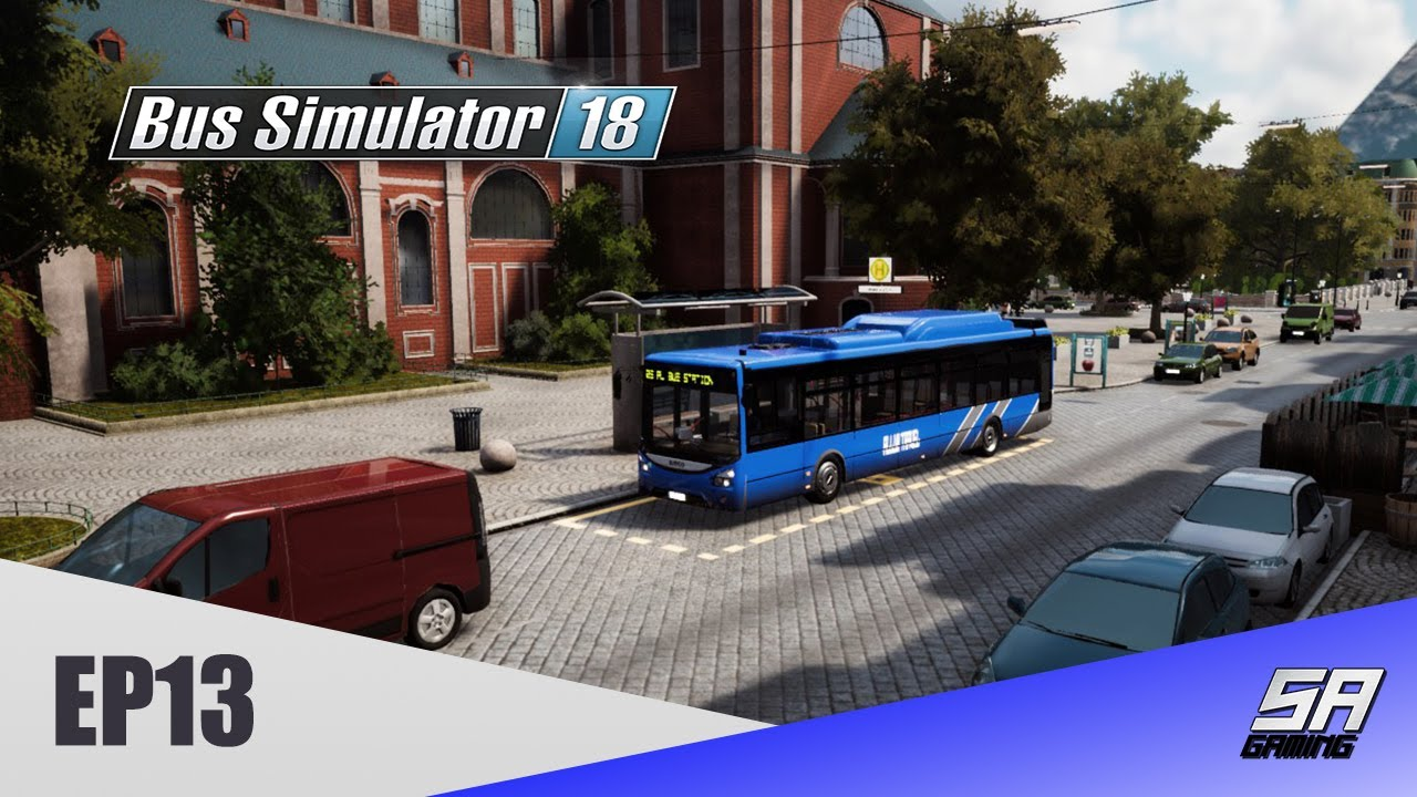 Our First Trip To The Cathedral - Bus Simulator 18 EP13