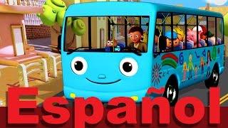 Las ruedas del autobús Parte 4 | LittleBabyBum canciones infantiles HD 3D