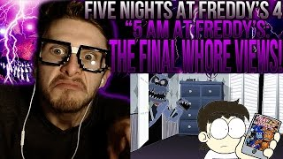 "Video Vapor Reacts #166 | FNAF ANIMATION ""5 AM at Freddy's: The Final Whore Views"" by PieMations REACTION! download MP3, 3GP, MP4, WEBM, AVI, FLV April 2018"
