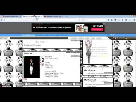 how to add invisible music to your imvu profile page