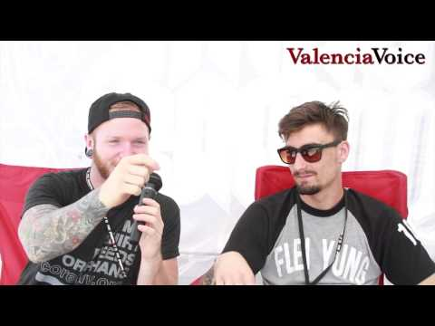 We Came as Romans interview at Vans Warped Tour 2015