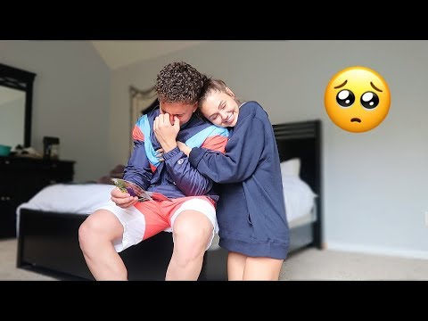 I WROTE MY BOYFRIEND A LOVE LETTER 3 YEARS AGO.. *EMOTIONAL* | Montana & Ryan