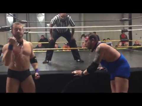 Jim Hutchinson vs. Brandon Fields- Dog Collar Match