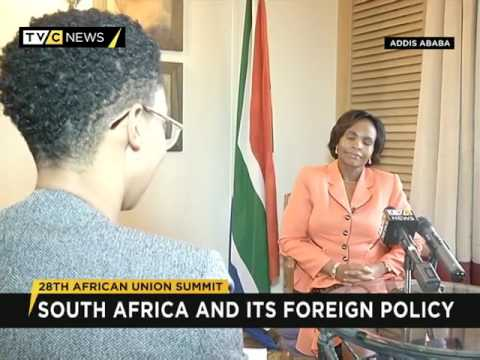 African Union: Interview with S.African Minister of International Relations.