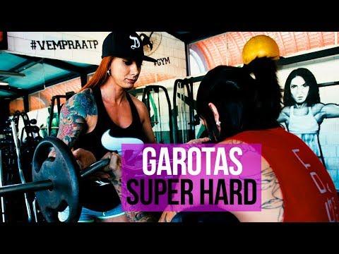 GAROTAS TREINANDO SUPERHARDCORE | BINA BUCK E DZ7