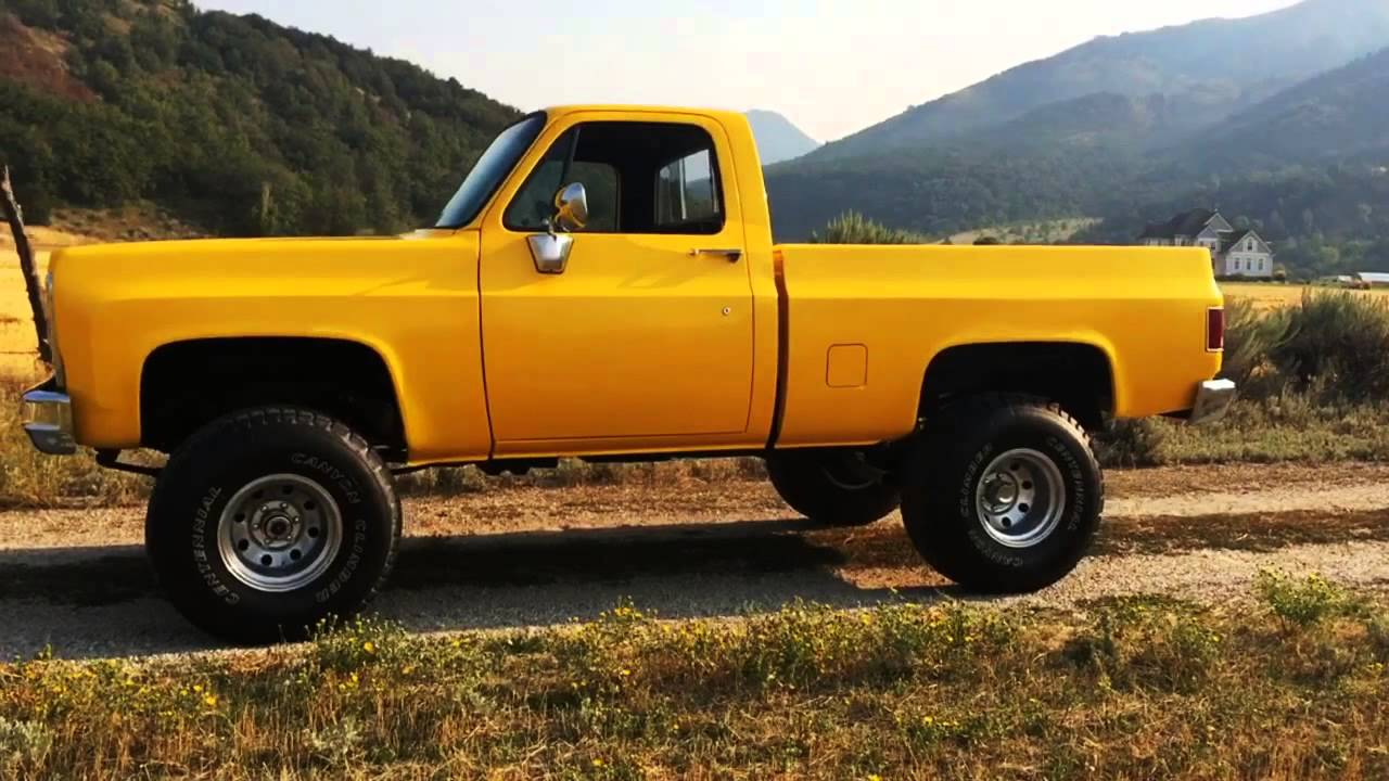 All Chevy 74 chevy short bed : 1978 Chevy Silverado Short Bed 4WD, Frame-Up Restoration, $8K ...