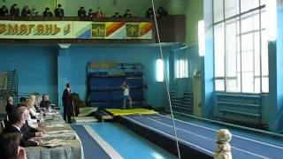 Акробатическая дорожка(чемпионат Украины 14-16.11.2012)
