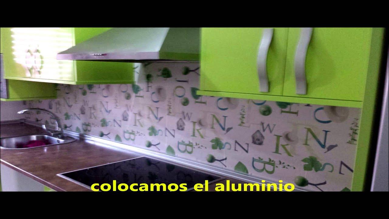 papel cocina cambia el lokk de tu cocina youtube