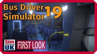 Bus Driver Simulator 2019 FIRST LOOK Gameplay & Review LIVE on TWITCH with Sim UK