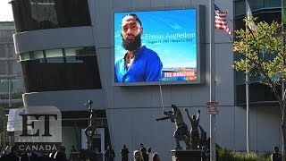 Beyonce, Chance The Rapper Attend Nipsey Hussle LA Memorial