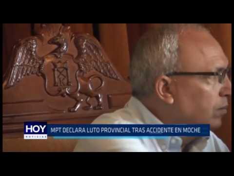 Municipalidad Provincial de Trujillo declara luto provincial tras accidente en Moche