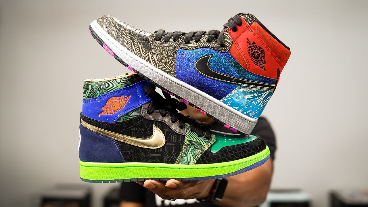 """Air JORDAN 1 """"What The"""" DOERNBECHER UNBOXING and Review"""