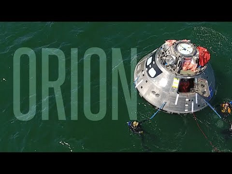 NASA Tests Orion Crew Exit Plans in Gulf of Mexico