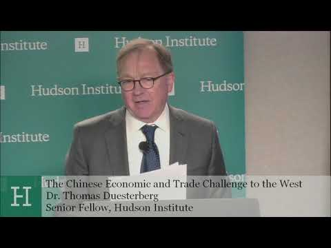 The Chinese Economic and Trade Challenge to the West: German and U. S. Perspectives