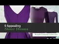 9 Appealing  Skater Dresses Purple Colored Collection