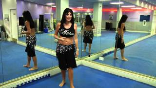 Belly Dance Tutorial - How to do Double drops with Nuala