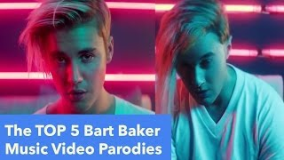 The TOP 5 Bart Baker Music Video Parodies