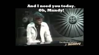 barry manilow mandy lyric