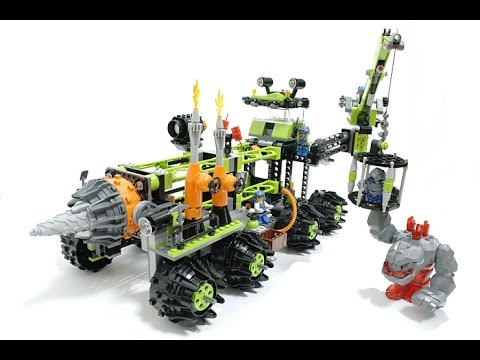8964 lego Titanium Command rig build and review