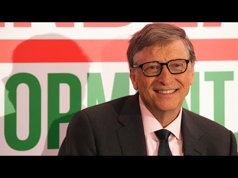 Bill Gates interview at 2017 Davos World Economic Forum