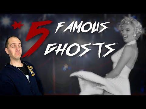5 Celebrity Ghost Hauntings