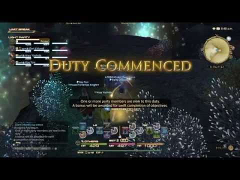 FFXIV Beginner's Guide to Healing with ConjurerWhite Mage in a dungeon