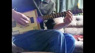 3 string Cigar Box Guitar Lesson (Sweet Home Alabama)