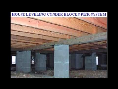 Mobile homes concrete slab pier and beam foundation for Pier foundation cost