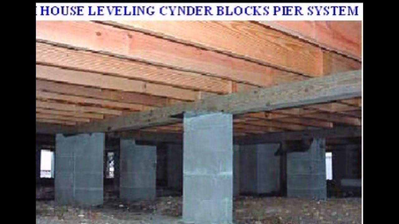 Mobile homes concrete slab pier and beam foundation for How to build a post and pier foundation