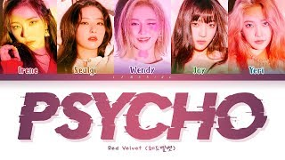 Gambar cover Red Velvet Psycho Lyrics (레드벨벳 Psycho 가사) [Color Coded Lyrics/Han/Rom/Eng]