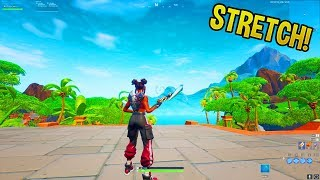 *NEW* How to get REAL Stretch in Fortnite! (FOV Changer v2)