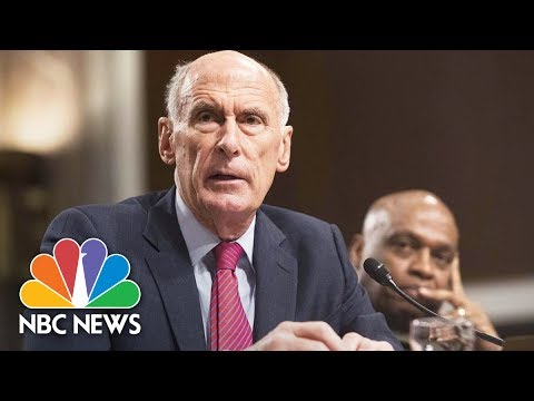 National Intelligence Chief Dan Coats Testifies At Senate He