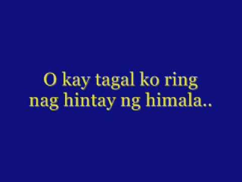 nang dahil sayo with lyrics