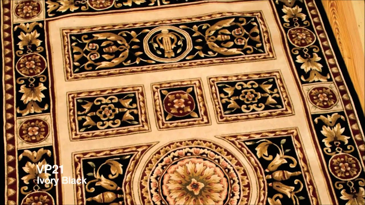 Alexanian versailles area rug collection youtube for Alexanian area rugs